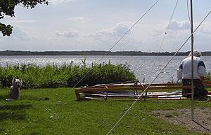 Faltboot Aufbau