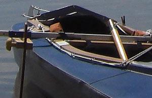 Faltboot Ausleger