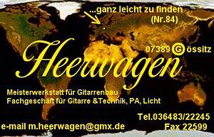 Visitenkarte Mathias Heerwagen