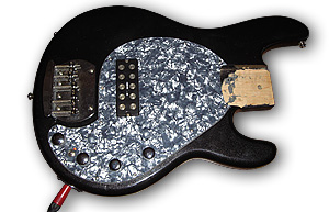 Der fertig modifizierte MM-Style-Bass-Body