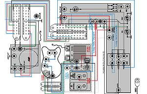 Floorboard Stromlaufplan