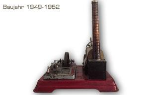 Dampfmaschine Fleischmann 120/4 Baujahr ca. 1950