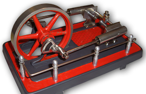 Das fertige 2-Zylinder Fleischmann-Aggregat