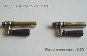 Vergleich Fleischmann Domdampfpfeifen