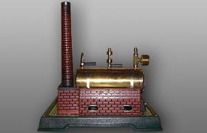 Fleischmann Dampfmaschine 125-2 Ansicht von links