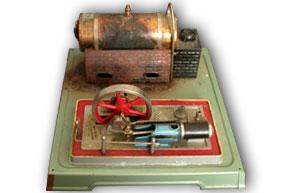 Fleischmann Dampfmaschine Aggregat