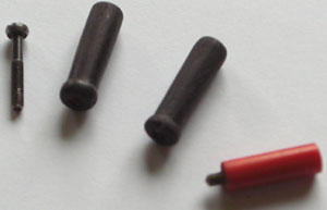 Originale und neu erstellte Griffe für Armaturen