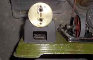 Fleischmann 125/2 von vorne mit Brennerauflage