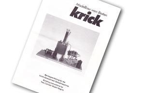 Krick Schiffsdampfmaschine Montageanleitung