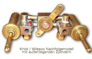 Das Nachfolgemodell von Krick / Wilesco