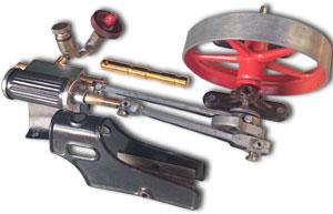 D16 Antrieb und Schiebersteuerung