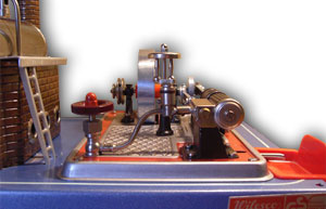 D16 Detailansicht mit montiertem Antrieb