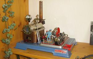 Dampfmaschine Wilesco D16 fertiggestellt