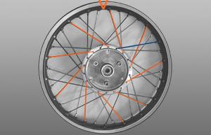 Drittes Bild Radeinspeichen