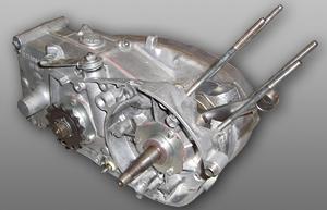 Simson M54-Motor Lichtmaschinenseite