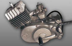 Originaler S50-4-gang-Motor