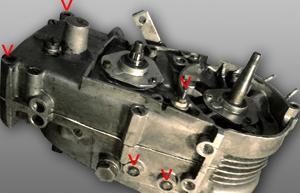 M54 Motor Getriebe von Unten