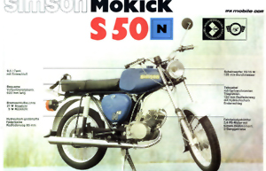 Werbeplakat S50 N
